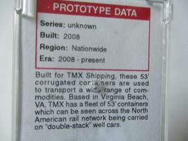 Micro-Trains # 46900162 TMX Shipping 53' Corrugated Container N-Scale image 3