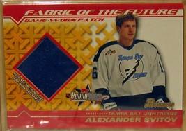2002-03 Bowman Youngstars Parches # como Alexander Svitov - $19.48