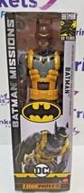 "DC Batman Missions True Moves ""ANTI FEAR TOXIN BATMAN"" 12"" Action Figure  - $23.99"
