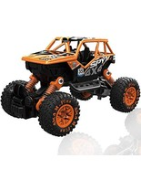 CORPER TOYS Pull Back 4WD Off Road Vehicle 1:32 Scale Pull Back Rock Cra... - $14.11