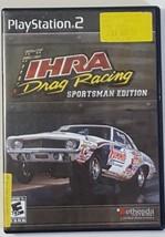 IHRA Drag Racing: Sportsman Edition - PS2 PlayStation 2 Video Game - Bla... - $13.81