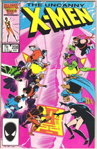 The Uncanny X-Men Comic Book #208 Marvel Comics 1986 VERY FINE- NEW UNREAD - $4.50