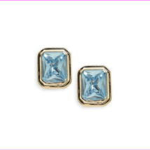 Lauren Ralph Lauren Gold-Tone Rectangular Stone Clip-On Earrings  $14.99 - $5.73