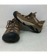 Keen Womens Dry Hiking Brown Boots Size 7.5 Hike Trail Outdoor  - $44.54