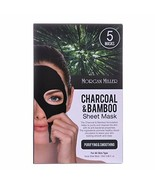 Morgan Miller Charcoal & Bamboo Sheet Mask, 5ct - €10,92 EUR