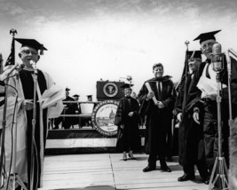 President John F. Kennedy after speaking at American University - New 8x... - $8.81