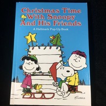 Vintage 1978 Christmas Time With Snoopy And His Friends A Hallmark POP-U... - $42.03