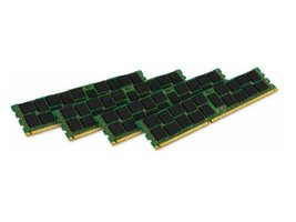 Kingston Technology ValueRAM 16GB Kit (4x4GB Moudules) 1600MHz DDR3 PC3-12800 EC - $128.58