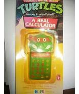 1989 Teenage Mutant Ninja Turtle Calculator - $69.25