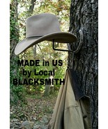 Blacksmith, Real Horseshoes,American Made Cowboy Hat/Coat Rack - $29.21