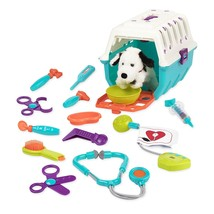 Battat Vet Kit Clinic Interactive Pretend Role Play for Kids 15 pieces - $31.23