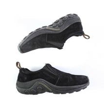 Merrell Jungle Moc Midnight Black Casual Loafers Hiking Shoes Slip On Wo... - $39.45