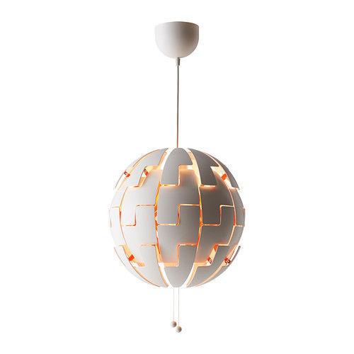 """IKEA PS 2014 20"""" Pendant Lamp, White, Copper color, 003.049.16 - NIB & FREE SHIP"""