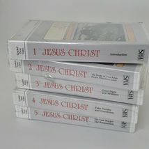 Jesus Christ VHS Tape Series by James Fleming 1985 Never Opened image 5