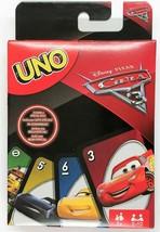 Disney Cars Uno Card Game Edition Movie Film Toy - $9.28