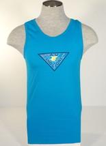 Maui and Sons Signature Blue Tank Muscle Shirt Mens NWT - $26.24