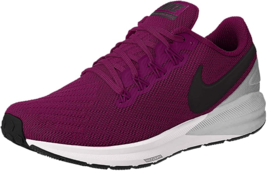 Nike Women's Air Structure 22 Running Shoes True Berry/Black Chrome White 10.5 B - $112.05