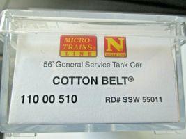 Micro-Trains # 11000510 Cotton Belt 56' General Service Tank Car N-Scale image 6