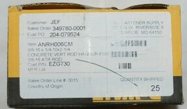Dewalt Fasteners ANRH006CM Vertical Rod Hanger Anchor For Concrete Box of 25 image 2