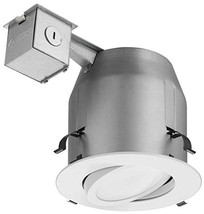 Lithonia Lighting LK5GMW M4 Gimbal Kit with Integrated LED, White, 5-Inch - $27.95