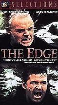 The Edge (VHS, 1998) Anthony Hopkins, Alec Bald... - $11.76
