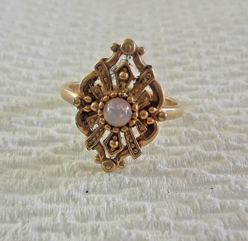 Vintage Avon Flower Duo Ring