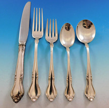 Georgian Manor by Lunt Sterling Silver Flatware Service for 12 Set 60 pi... - $2,895.00