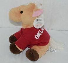 Fiest Brand A55627 Lil Buddies Tan 9 Inch Oklahoma Bean Bag Sitting Horse image 4