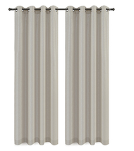 Urbanest Cosmo Set of 2 Sheer Curtain Panels w/ Grommets image 7