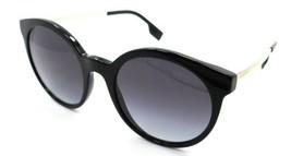 Burberry Sunglasses BE 4296 3001/8G 53-20-140 Black / Grey Gradient Italy - $105.06
