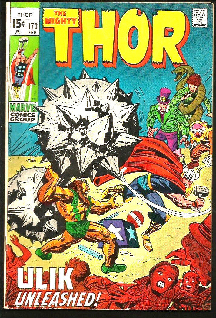 THOR #173 --1st print & series JACK KIRBY Marvel Comics 1970 Silver Age STAN LEE
