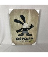 Disney Oswald The Lucky Rabbit Framed Canvas Special Edition 2007 23x16 - $43.35