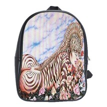 Backpack School Bag Hot Additions Girl Sexy Beautiful Zebra Lady Game Anime Fant - $33.00