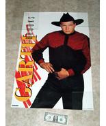 "1992 GARTH BROOKS #468 Blue Rose, Western Graphics Corp Poster 32"" X 21"" - $24.73"