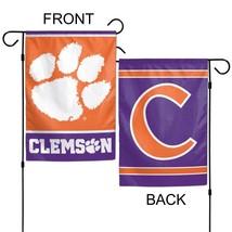 "University of Clemson Tigers 12"" x 18"" Premium Decorative Garden Flag - $14.95"