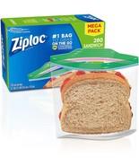 Ziploc Sandwich Bags, Easy Open Tabs, 280 Count - $13.99