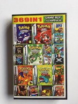 Nintendo GBA EG 369 In 1 Video Game Card Cartridge Console US English La... - $17.81