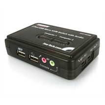 StarTech Network SV211KUSB USB 2-Port USB KVM Switch Kit with Audio and ... - $56.44