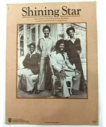 The Manhattans Shining Star 1980 Piano Vocal Sheet Music RARE Original Copy - $14.50