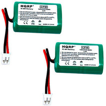 2-Pack HQRP Battery for SportDOG FieldTrainer 400 SD-400 SD400 Collar Receiver - $27.17