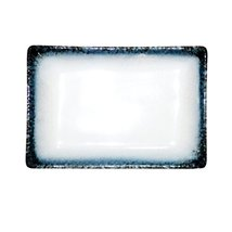 Kylin Express Rectangle Ceramic Dinner Plate Creative Japanese Sushi Plate, F - $25.80