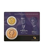 2016 US Mint Ronald Reagan Presidential $1 Coin & First Spouse Medal Set... - $22.69