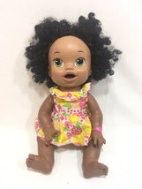 Hasbro Baby Alive African American Super Snacks Snackin Sara Doll Biling... - $17.81