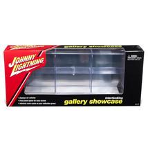6 Car Interlocking Acrylic Display Show Case for 1/64 Scale Model Cars b... - $27.20