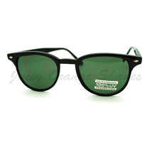 Thin Round Side Horn Rimmed Sunglasses Unisex Vintage Retro - $7.87+
