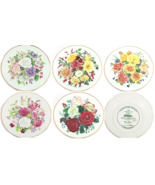 Majesty Rose Flowers Collector Plate The Franklin Mint - $49.95