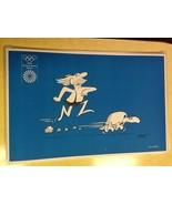 Lot of 5 Olympic Games Antik Prints 1972 Amsterdam - $2.97