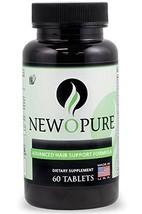 Newopure: Natural Hair Growth Vitamins, Repairs Hair Follicles, Stops Hair Loss, - $54.79