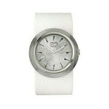 Marc Ecko E11534G2 Men's White Silicone Band with White Analog Dial Watch - $38.35