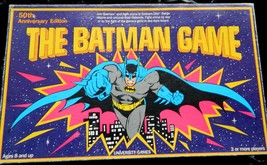 The Batman Game-50th Anniversary Glow In the Dark Board Game - $24.00